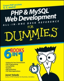 PHP and MySQL Web Development All-in-one Desk Reference For Dummies, Paperback Book