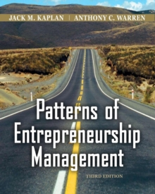 Patterns of Entrepreneurship, Paperback Book
