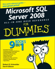 Microsoft SQL Server 2008 All-in-one Desk Reference For Dummies, Paperback Book