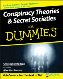 Conspiracy Theories and Secret Societies For Dummies, Paperback Book