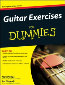Guitar Exercises For Dummies, Paperback Book