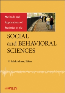 Methods and Applications of Statistics in the Social and Behavioral Sciences, Hardback Book