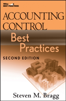 Accounting Control Best Practices, Hardback Book