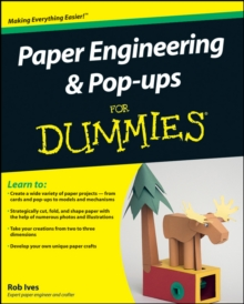 Paper Engineering and Pop-ups For Dummies, Paperback Book