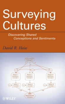 Surveying Cultures : Discovering Shared Conceptions and Sentiments, Hardback Book