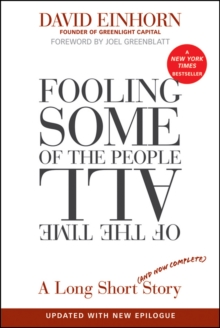 Fooling Some of the People All of the Time : A Long Short (and Now Complete) Story, Paperback Book