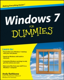 Windows 7 for Dummies (R), Paperback Book