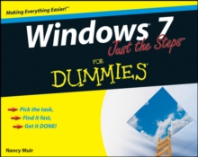 Windows 7 Just the Steps For Dummies, Paperback Book