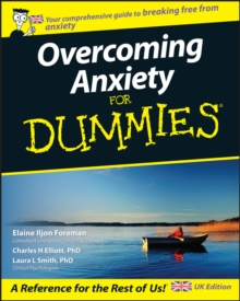 Overcoming Anxiety For Dummies, Paperback Book