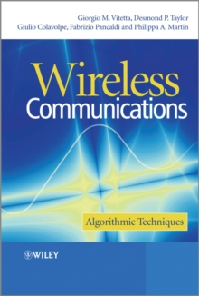 Wireless Communications : Algorithmic Techniques, Hardback Book