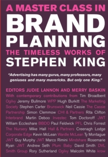 A Master Class in Brand Planning : The Timeless Works of Stephen King, Hardback Book