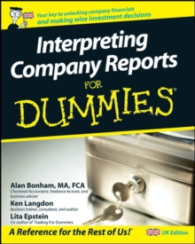 Interpreting Company Reports For Dummies, Paperback Book