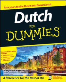 Dutch for Dummies +CD, Paperback Book