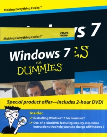 Windows 7 for Dummies (R) Dvd+book Bundle, Paperback Book