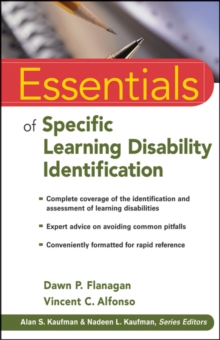 Essentials of Specific Learning Disability Identification, Paperback Book