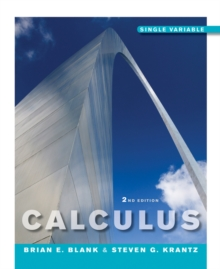 Calculus Single Variable 2E, Hardback Book