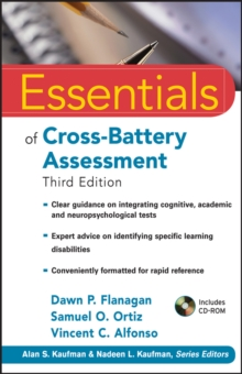 Essentials of Cross-Battery Assessment, Paperback Book