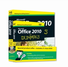 Office 2010 For Dummies, Paperback Book