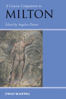 A Concise Companion to Milton, Paperback / softback Book