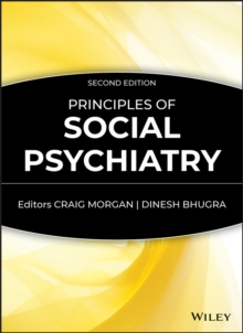 Principles of Social Psychiatry, Hardback Book