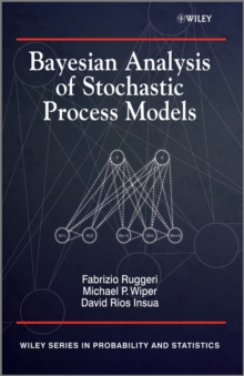 Bayesian Analysis of Stochastic Process Models, Hardback Book