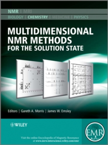 Multidimensional NMR Methods for the Solution State, Hardback Book