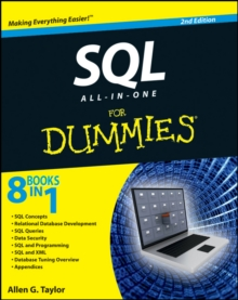 SQL All-In-One for Dummies, 2nd Edition, Paperback Book