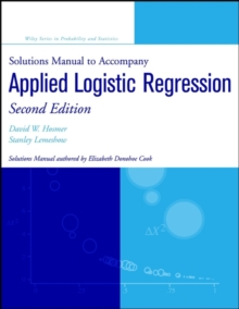 Solutions Manual to accompany Applied Logistic Regression, Paperback / softback Book