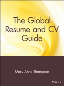 The Global Resume and CV Guide, Paperback / softback Book