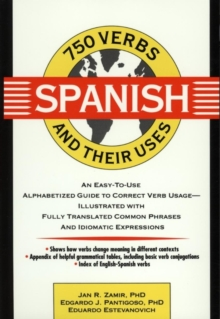 750 Spanish Verbs and Their Uses, Paperback Book