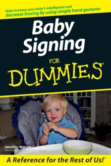 Baby Signing for Dummies, Paperback Book