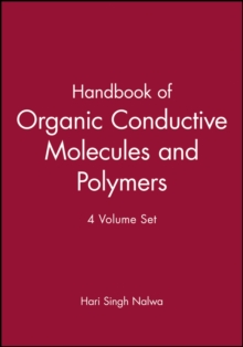 Handbook of Organic Conductive Molecules and Polymers : 4 Volume Set, Hardback Book
