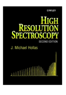 High Resolution Spectroscopy, Hardback Book