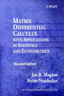 Matrix Differential Calculus with Applications in Statistics and Econometrics, Paperback Book