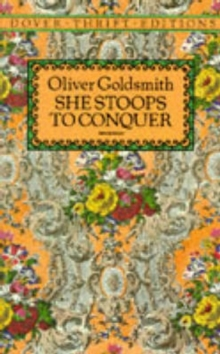 She Stoops to Conquer, Paperback Book