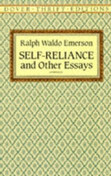 Self Reliance, Paperback Book