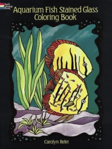 Aquarium Fish Stained-Glass Colouring Book