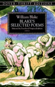Blake's Selected Poems, Paperback Book