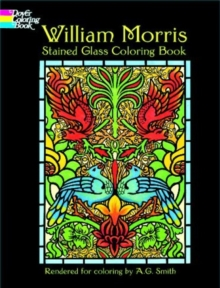 William Morris Stained Glass Coloring Book, Paperback / softback Book