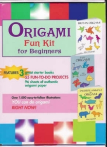 "Origami Fun Kit for Beginners : ""Birds in Origami"", ""Easy Origami"", ""Favorite Animals in Origami"", Paperback Book"