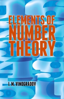 Elements of Number Theory, Paperback / softback Book