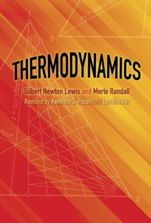 Thermodynamics, Paperback / softback Book