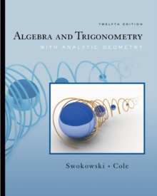 Algebra and Trigonometry with Analytic Geometry (with CengageNOW Printed Access Card), Mixed media product Book