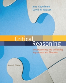 Critical Reasoning, Paperback Book