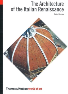Architecture of the Italian Renaissance, Paperback Book