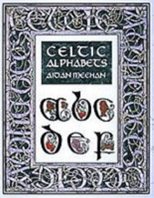 Celtic Alphabet, Paperback Book