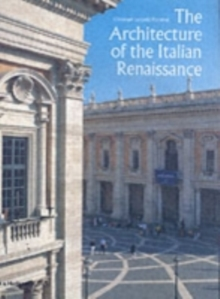 The Architecture of the Italian Renaissance, Hardback Book