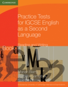 Practice Tests for IGCSE English as a Second Language Reading and Writing Book 1, Paperback Book