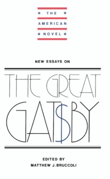 New Essays on The Great Gatsby, Paperback Book