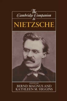 The Cambridge Companion to Nietzsche, Paperback Book